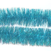 Light Blue Tinsel Garland 75mm x 2m
