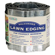 Galvanised Lawn Edging - 5m x 165mm