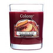 Wax Lyrical Colony Mulled Wine Candle Glass