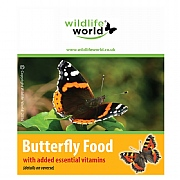 Wildlife World Butterfly Food With Vitamins