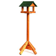 Tom Chambers Bird Brasserie Wooden Roof Bird Table