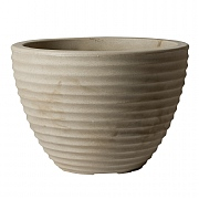 Stewart Garden Low Honey Pot Planter 37cm - Suede