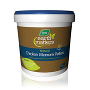 Earth Matters Chicken Manure Pellets - 7kg