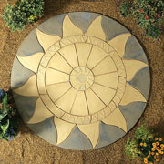Sunflare Circle Kit 2.56m - Rustic Sage