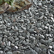 Green Slate Chippings Bulk Bag