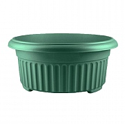 Stewart Garden Corinthian Low Planter 45cm - Green