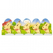 Lindt Gold Milk Chocolate Easter Bunny 5 Pack (50g)