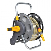 Hozelock 45m Capacity Hose Reel with 25m Hose & Fittings