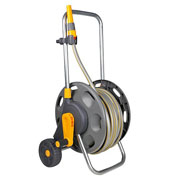 Hozelock Assembled Hose Cart with 30m Hose + Free Spray Gun