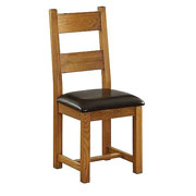 Vancouver Oak Petite Dining Chair (NB003)