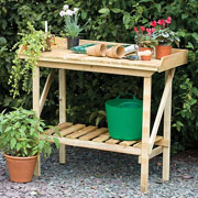 Forest Potting Bench
