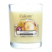 Wax Lyrical Colony Gold, Frankincense & Myrrh Candle Glass