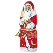 Lindt Milk Chocolate Santa 40g