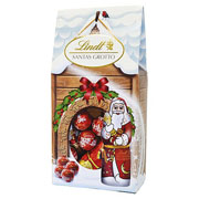 Lindt Santa Grotto Chocolate Gift Bag 110g