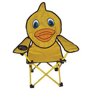 Quest Childrens Duck Fun Folding Animal Chair