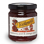 Tracklements Cranberry Port & Orange Sauce 250g