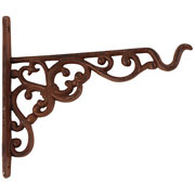 Cast Iron Hanging Basket Hook - Small