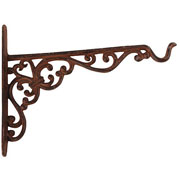 Cast Iron Hanging Basket Hook - Large