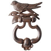 Cast Iron Bird Door Knocker