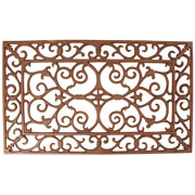 Cast Iron Rectangular Doormat - Small