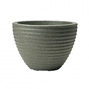 Stewart Garden Low Honey Pot Planter 37cm - Marble Green