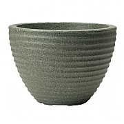 Stewart Garden Low Honey Pot Planter 50cm - Marble Green