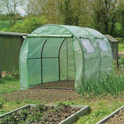 Polytunnel with Reinforced Cover & Windows