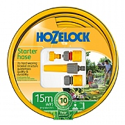 Hozelock Starter Hose & Fittings Set 15m