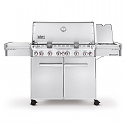 Weber Summit S-670 GBS Gas Barbecue Stainless Steel