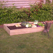 Traditional Wooden Raised Vegetable Bed