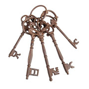 Cast Iron Keys - Large