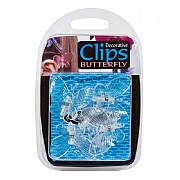Growth Technology Butterfly Clips (Pack of 6)