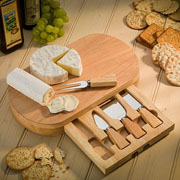 Occasion Oval Cheeseboard with Knives