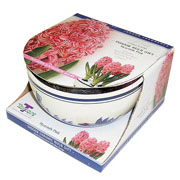 Hyacinth Pink Delft Bowl Gift Set