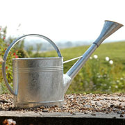 Galvanised Steel Waterfall Watering Can - 9ltr
