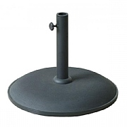 Supremo 15kg Black Parasol Base