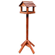 Tom Chambers Bird Inn Wooden Roof Bird Table