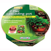 Cascade Pot Terracotta