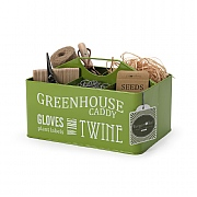 Burgon & Ball Greenhouse Caddy Lime Green