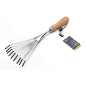 Burgon & Ball RHS Stainless Steel Shrub Rake
