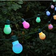 20 Solar Powered Party String Lights