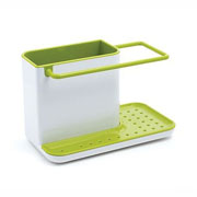 Joseph Joseph Caddy Sink Tidy - White/Green