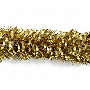 Festive Gold Giant Bubble Loop Tinsel - 2m