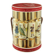 "Robin Reed 12 Days of Christmas 10"" Christmas Crackers Pack of 10"