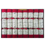 "Robin Reed Hand Bells 14"" Christmas Crackers Pack of 8"