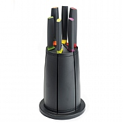 Joseph Joseph Elevate 6 Piece Knife Set with Carousel Stand