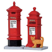 Lemax Victorian Mailboxes (Set of 2)
