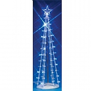 Lemax Lighted Silhouette Tree (Blue)