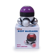 Vibrating Body Massager with LED Lights