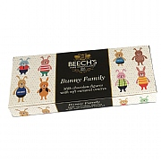 Beech's Milk Chocolate Bunny Family 100g